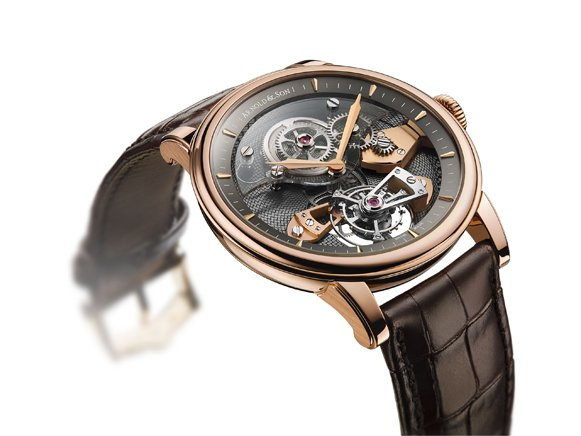 rosen gold arnold son tes tourbillon skeleton zifferblatt uhr replik billig tag heuer. Black Bedroom Furniture Sets. Home Design Ideas