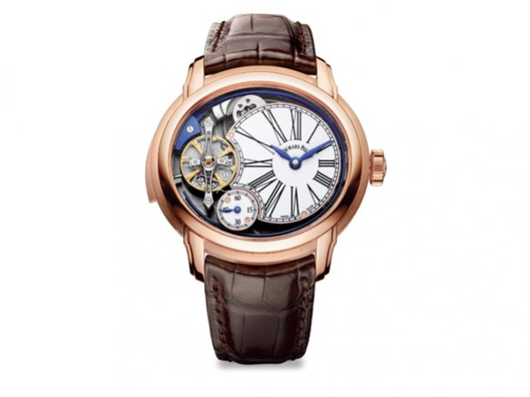rose gold audemars piguet millenary skelett uhr replik billig tag heuer replica uhren kaufen. Black Bedroom Furniture Sets. Home Design Ideas