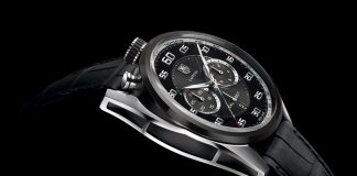 TAG Heuer: Carrera Chronograph Calibre 1887