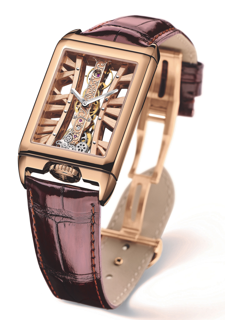 Corum: Golden Bridge Rectangle