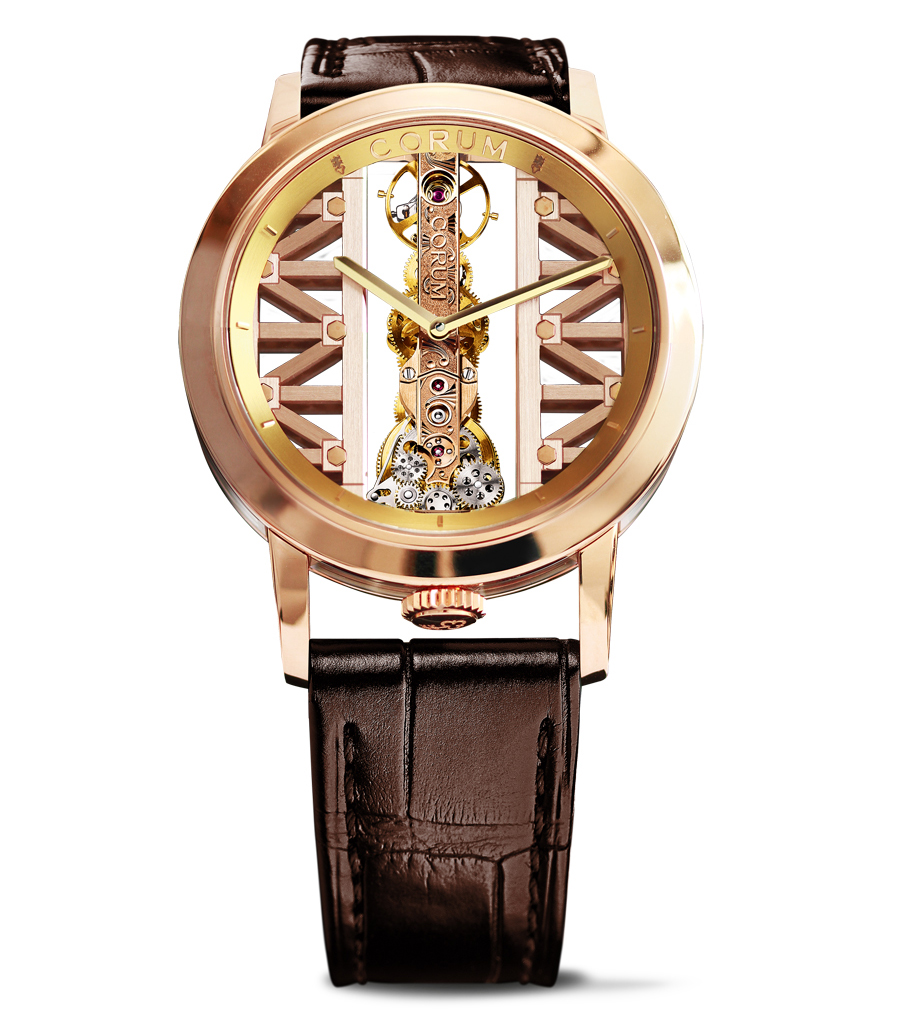 Corum: Golden Bridge Rund