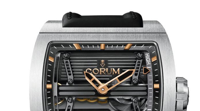 Corum: Ti-Bridge Power Reserve Only Watch 2013