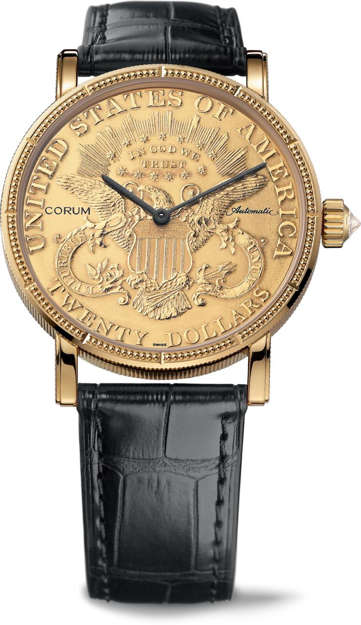 Corum: Heritage Artisans Coin Watch