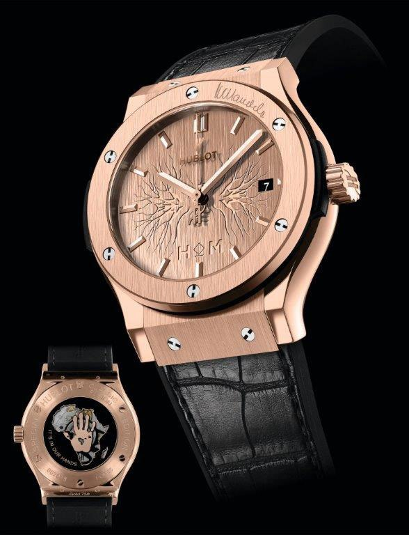 Hublot-Classic-Fusion-House of Mandela