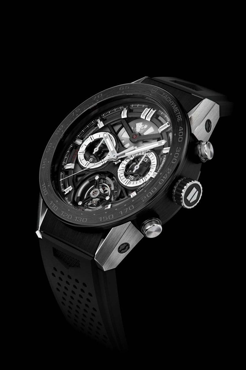 Tag Heuer: Carrera Calibre Heuer 2 Tourbillon Cosc–Baselworld 2016