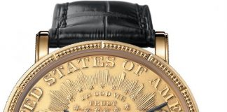 Corum: Heritage Artisans Coin Watch $20
