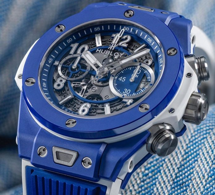 Die auf 100 limitierte Hublot 2018 Replik Big Bang Blue: in the summertime…