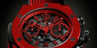 Simply red: Hublot Big Bang Unico Red Magic