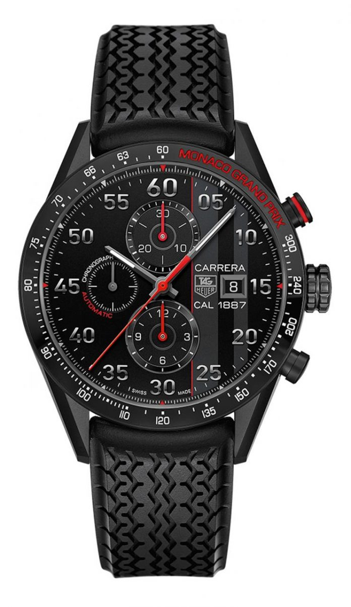 TAG Heuer: Carrera Calibre 1887 Monaco Grand Prix Limited Edition